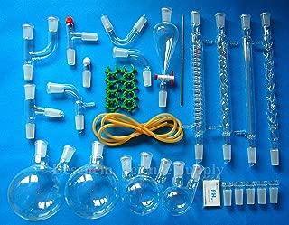 24/40,New Organic Laboratory Glassware Kit,45 PCS,Lab Set