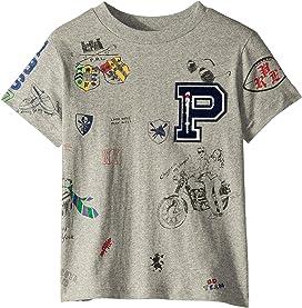 e1b2e57a Cotton Jersey Graphic Tee (Little Kids/Big Kids). Polo Ralph Lauren Kids