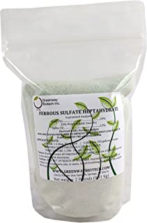 Ferrous Sulfate Heptahydrate 20% Iron (Fe) 12% Sulfur (S) 100% Water Soluble Powder