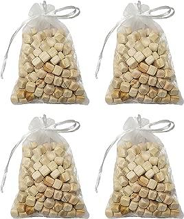 GOODS KOREA Hinoki Cypress Tree Phytoncide Natural Air Freshener, Odor Eliminator 100g Bag for Bedroom, Bathroom, Car, Closet. 5.1