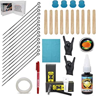 Hand Poke and Stick Tattoo Kit - Clean & Safe Stick & Poke Tattoos (Hand Poke Tattoo Kit)
