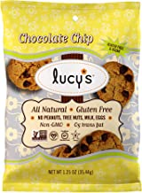 Dr. Lucy's Gluten Free, Dairy Free, All Natural, Non-GMO Chocolate Chip Grab n' Go Cookies 1.25 oz--Pack of 24