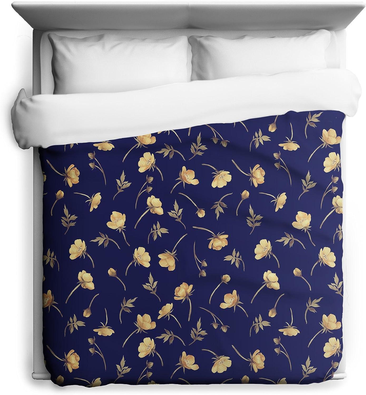 年末年始大決算 Sharp Shirter Buttercup Floral Pattern 最安値挑戦 in Cover Duvet Printed