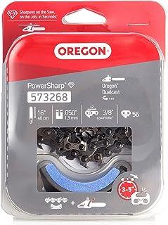 Oregon 573268 Kit de reposición de Cadena y Piedra de Afilado de la Motosierra de batería de Litio CS300, Rojo/Negro/Gris