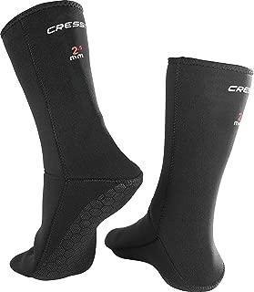 Cressi ANTI-SLIP NEOPRENE SOCKS, Neoprene Snorkeling Diving No-Slip Adult Socks - Cressi: Italian Quality Since 1946