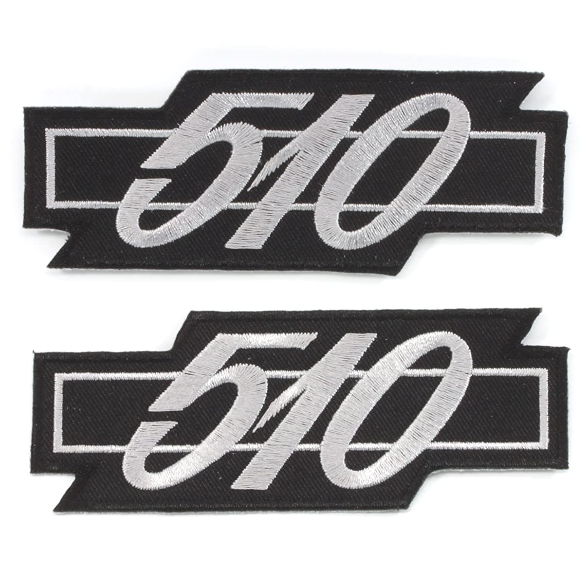 Rotary13B1 Datsun 510 Patches - 2 Pieces - Black