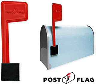 Universal Peel and Stick Replacement Mailbox Flag Replacement (No Tools Required, Fits Any Mail Box)