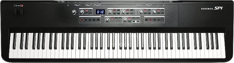 Kurzweil SP1 88-Key Stage Piano, Black (SP1-LB)