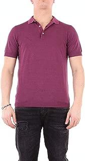 HERITAGE Luxury Fashion Mens 0243P2ZMELANZANA Purple Polo Shirt | Season Outlet