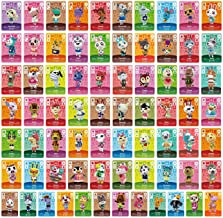 $33 » BBear 72PCS ACNH Series 1-4 NFC Cards - Animal Crossing Series, New Horizons Game Villagers Cards,Random,Compatible with S...