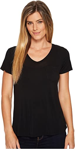 Prana Foundation Short Sleeve V-Neck Top