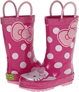 Western Chief Kids - Hello Kitty® Cutie Dot Rain Boot (Toddler/Little Kid/Big Kid)