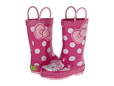Western Chief Kids Hello Kitty(r) Cutie Dot Rain Boot (Toddler/Little Kid/Big Kid) (Pink) Girls Shoes