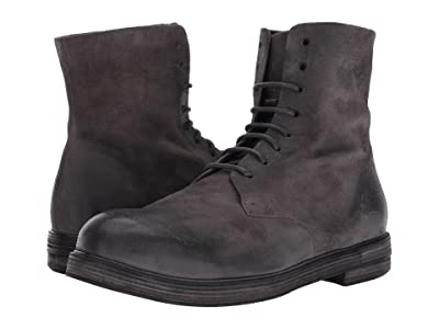Marsell Suede Lace-Up Boot (Grey) Men
