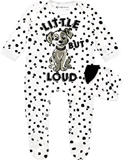 Baby Girls' 101 Dalmatians Footies and Hat