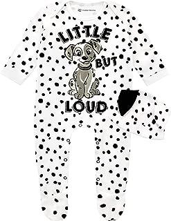 Disney Baby Girls' 101 Dalmatians Footies and Hat