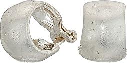 The Sak - Small Wide Hoop Clip Earrings