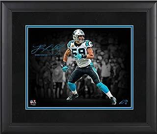 Luke Kuechly Carolina Panthers Framed 11