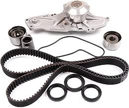 ECCPP Timing Belt W/Water Pump Kit For 97-03 ACURA CL V-TEC 3.0 3.2L V6 24V J30A1