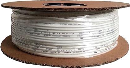 "ATP IMBIBE NSF 61 Polyethylene Plastic Tubing, White, 11/64"" ID x 1/4"" OD, 100 feet Length"