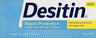 Desitin Rapid Relief Nappy Rash Ointment Cream, 100g