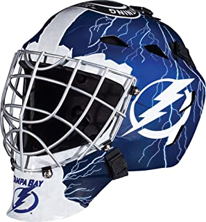 Tampa Bay Lightning Unsigned Franklin Sports Replica Full-Size Goalie Mask - Unsigned Mask