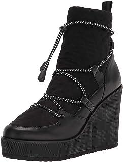 حذاء للكاحل للنساء من ستيف مادين، أسود، 9