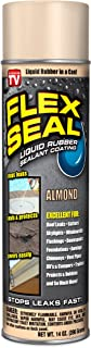 Flex Seal Spray Rubber Sealant Coating, 14-oz, Almond