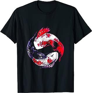 Yin Yang Koi Fishes t-shirt gift by Joitamix