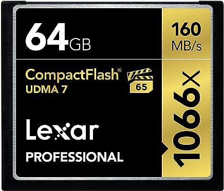 Lexar Professional 1066x 64GB VPG-65 CompactFlash card...