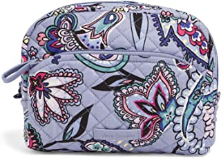 Vera Bradley Women's Signature Cotton Medium Cosmetic Makeup Organizer Bag