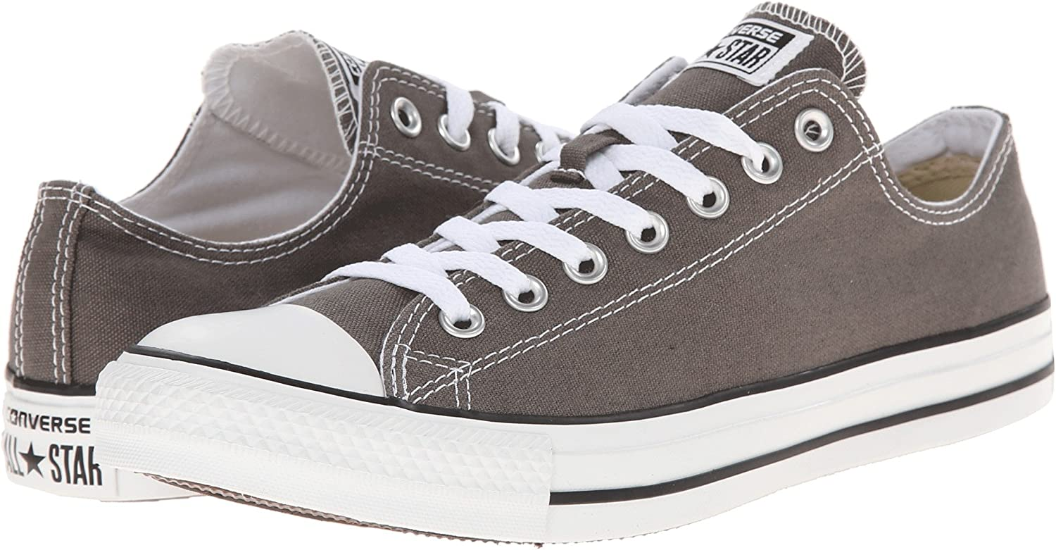 Converse Unisex Chuck Taylor All Star Low, Charcoal (38 M EU 7.5 B(M) US damen 5.5 D(M) US Men.Charcoal.)