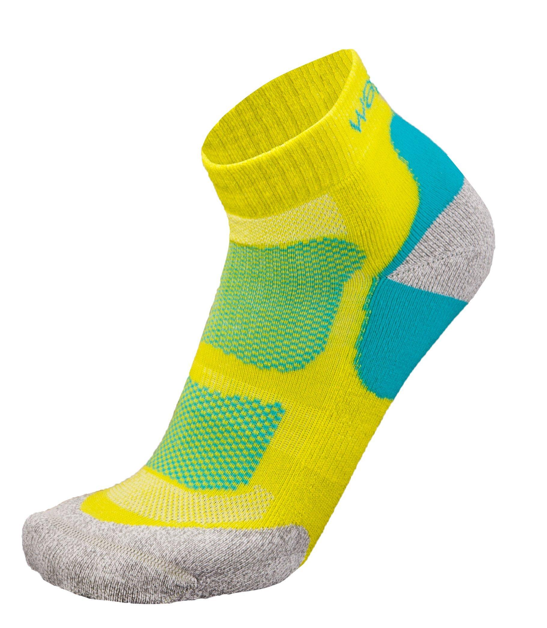Wapiti Herren RS04 Socke, Lime, 45-47