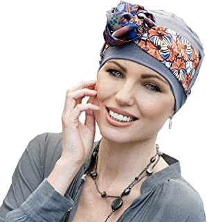 Yanna Bamboo Cancer Headwear for Women and Teenage Girls with Chemo or Alopecia Hair Loss Chemotherapy Hat