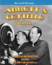 Abbott and Costello Rarities Blu-ray/DVD combo