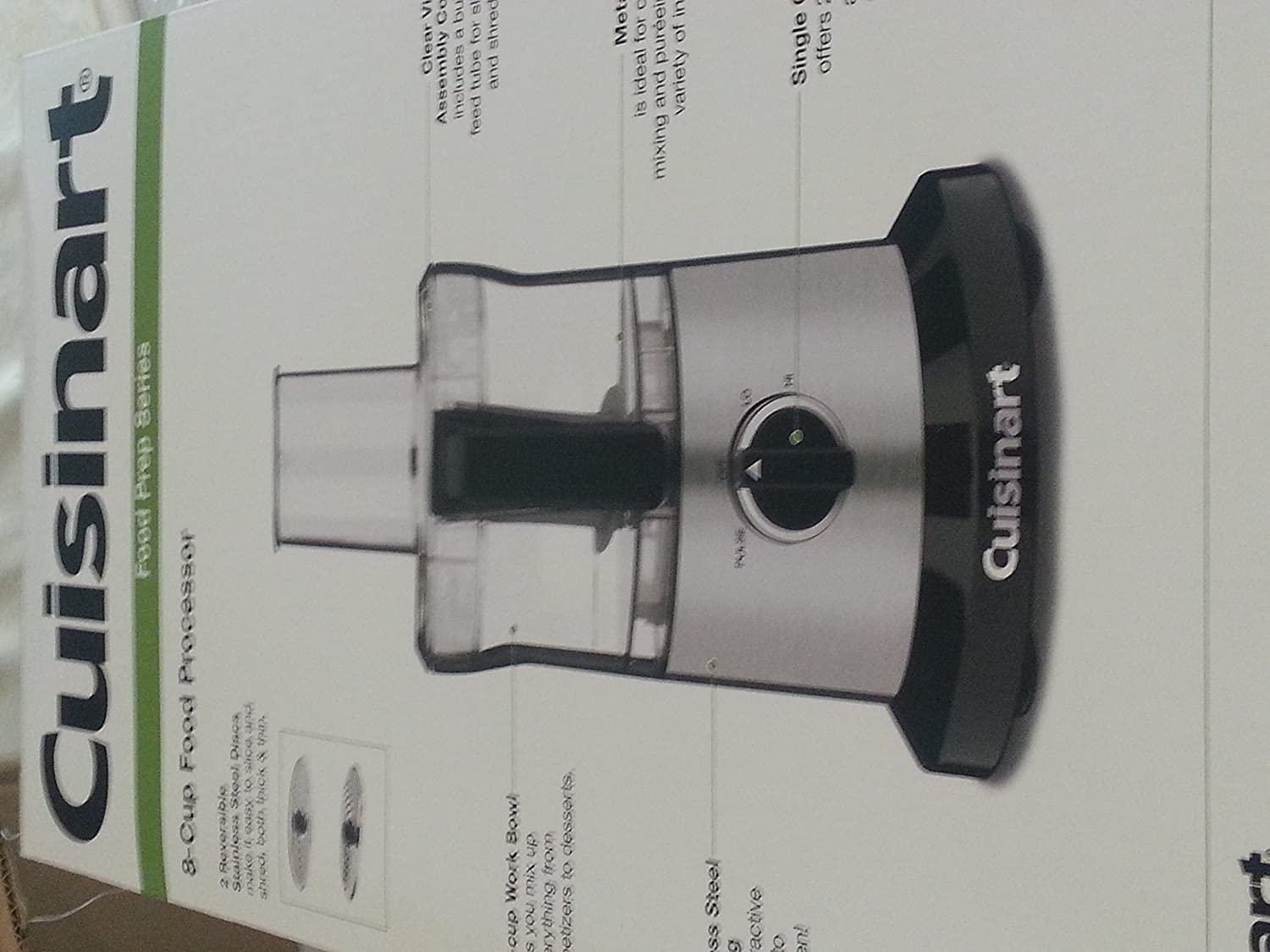 Cuisinart DLC-6 Online limited product 5 popular 8-Cup Food Processor