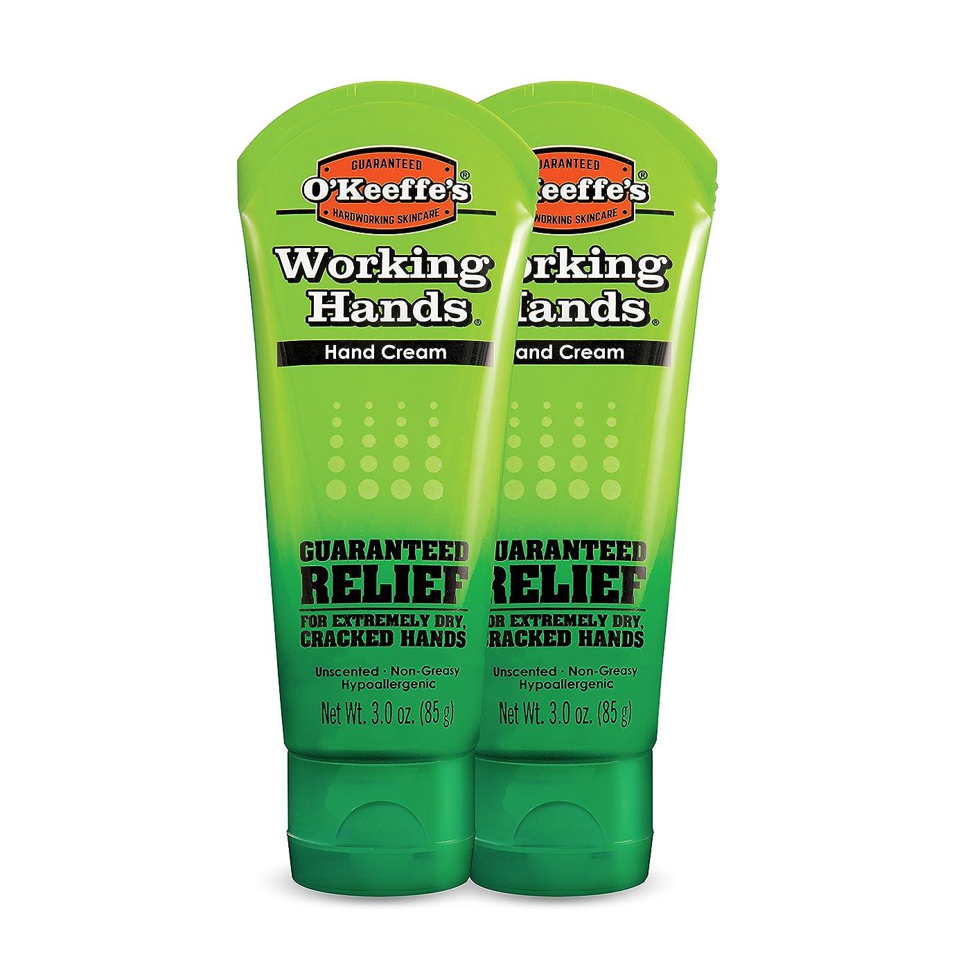 プレフィックス必要ない心配O ' Keeffe 's Working Hands Hand Cream、3?oz ( Pack of 2?)