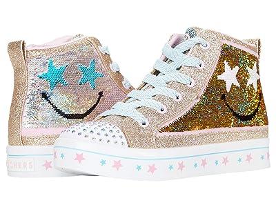 SKECHERS KIDS Twinkle Toes Twi-Lites 2.0 Smile Bright 314027L (Little Kid/Big Kid) (Gold/Multi) Girl