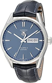 TAG Heuer Men's WAR201E.FC6292 Carrera Analog Display Swiss Automatic Blue Watch