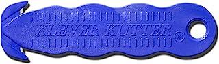Box Cutter, Klever Kutter 100 Pack - Safety Cutter - Blue