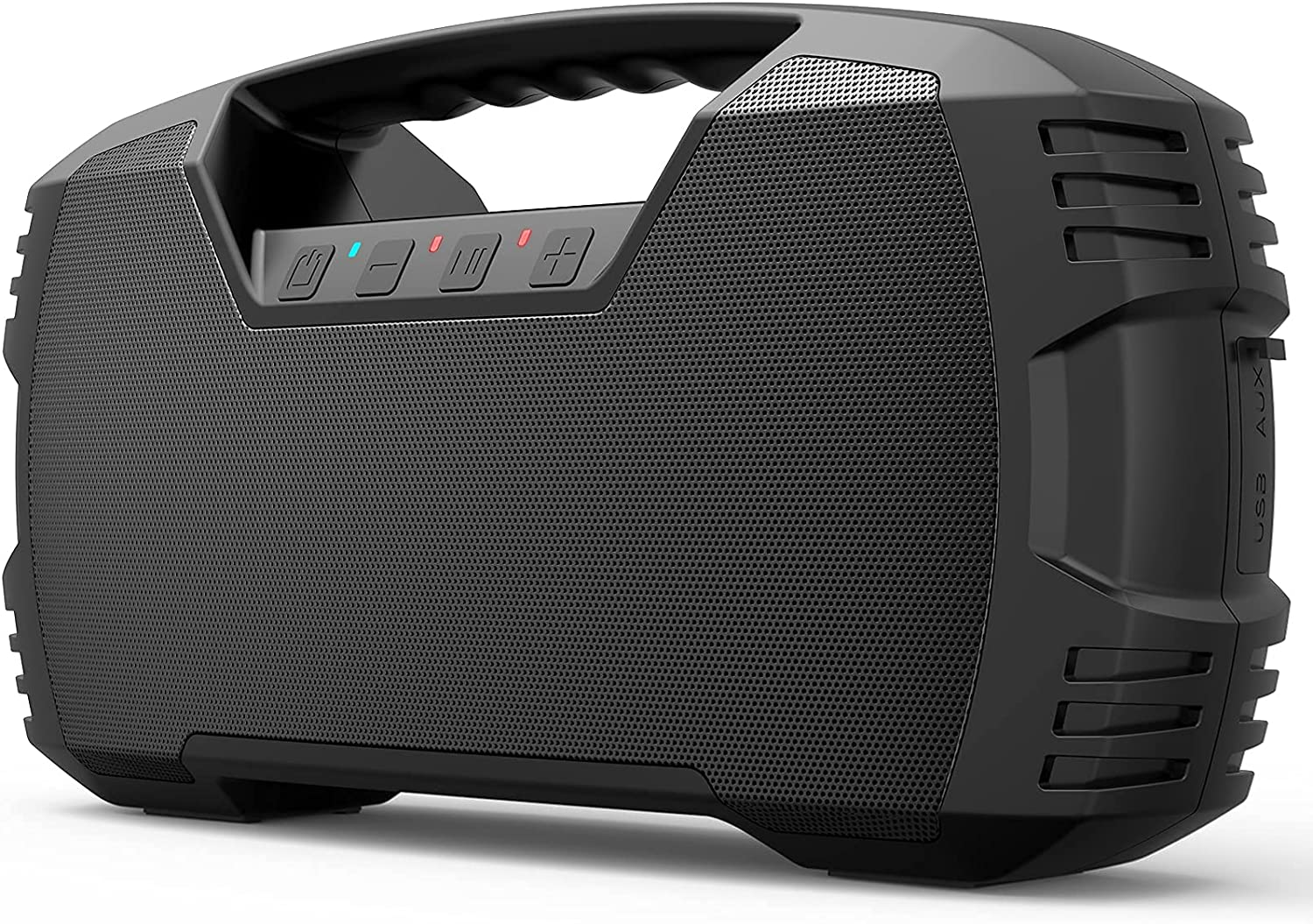 DBSOARS Bluetooth Speaker, 40W (60W Peak), Punchy Bass, 40H Playtime, IPX7,Waterproof Outdoor Wireless Portable Speaker, Loud Stereo Sound, Bluetooth 5.0, 10000mAh Power Bank for Beach Pool Party