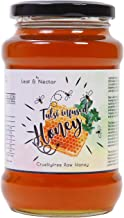 Leaf and Nectar Raw Organic Honey Infused with Tulsi| Unprocessed, Unpasteurized, Pure Natural Original Honey| an Ayurvedic Remedy for Weight Loss, Cough and Digestive Disorders - 530Grams
