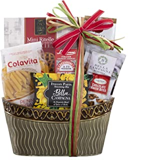 Wine Country Gift Baskets Taste of Italy Italian Gift Full of Italian Gourmet Ingredients Ready to Make an Italian Feast I...