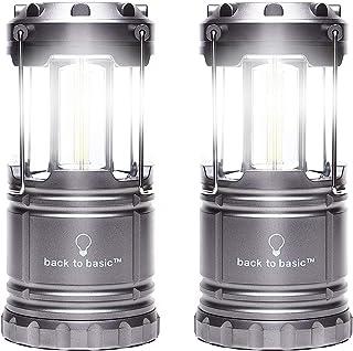 back to basic LEDランタン ランプ ランタン 電池式 2個セットキャンプ/災害非常灯