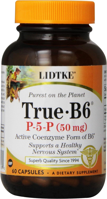 Lidtke Technologies cheap True B6 High material Capsules Count 50 60 mg
