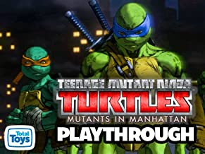 Clip: Teenage Mutant Ninja Turtles Mutants In Manhattan Playthrough