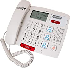 $64 » Future Call FC-0729 Big Button Caller ID Picture Care Desktop Phone with 2 Way Speakerphone and SOS Auto Dial - New Featur...