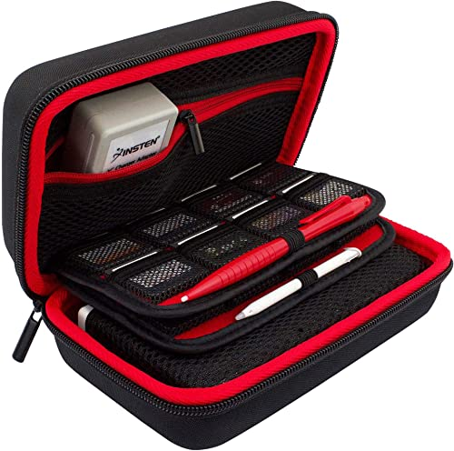 TAKECASE Hard Shell Carrying Case - Compatible with Nintendo 3DS XL and 2DS XL - Fits 16 Game Cards and Wall Charger ...