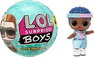 LOL Surprise Boys - Poupée garçon & 7 Surprises - Change de couleur & accessoires de mode - LOL Surprise Garçon série 4 - ...