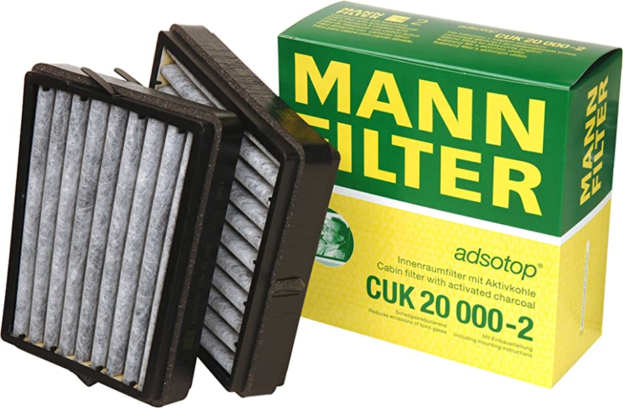 Mann-Filter CUK 20 000-2 Carbon Activated Cabin Filter